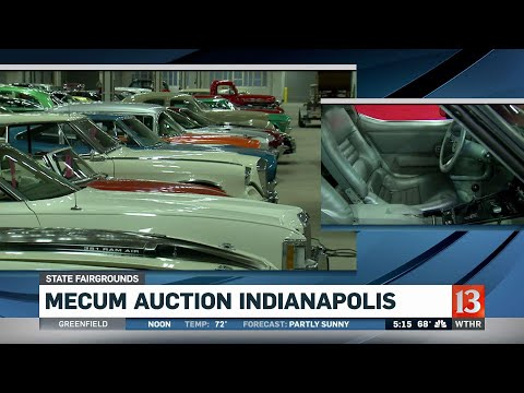 Indy 500 pace cars at the Mecum auto auction
