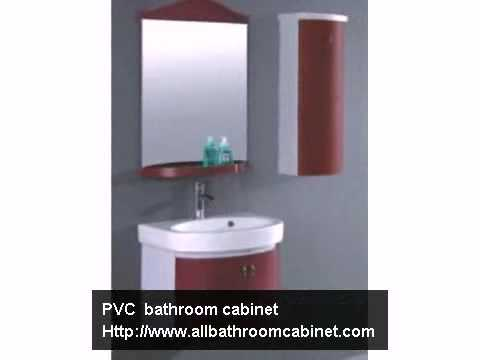 PVC bathroom cabinet supplier,bathroom vanity china.mp4