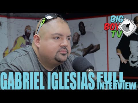 "Gabriel Iglesias talks ""Weight Loss"", Fluffy Breaks Even, And More! (Full Interview) 