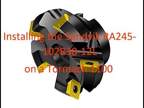 10 St/ück Sandvik Coromant 345R-1305M-PM1010 CoroMill 345 Einlage zum Fr/äsen