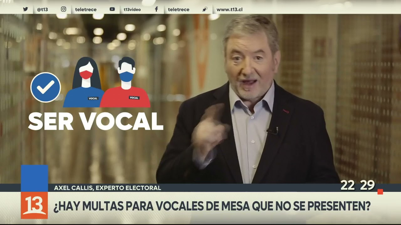 ¿Hay multas para vocales de mesa que no se presenten? #TúDecides