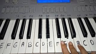 Halka Halka     Amit Trivedi   Sunidhi Chauhan   Easy Piano Tutorial
