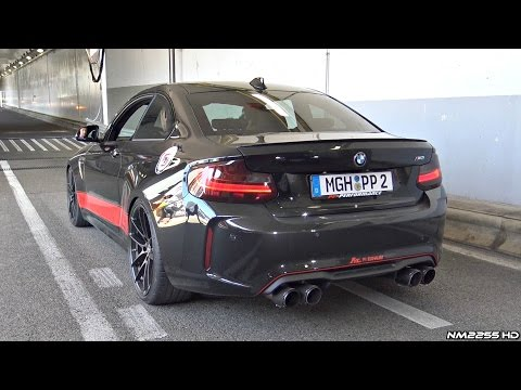 BMW M2 F87 PP-Performance with Fi Exhaust LOUD Sounds!
