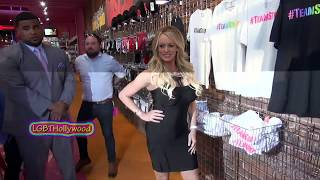 Stormy Daniels SWOON! West Hollywood 2018