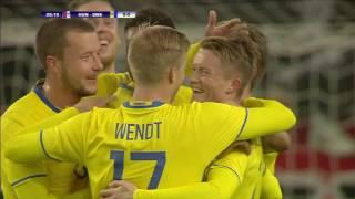 Sam Larsson debutmålskytt när Sverige slog Ungern - TV4 Sport