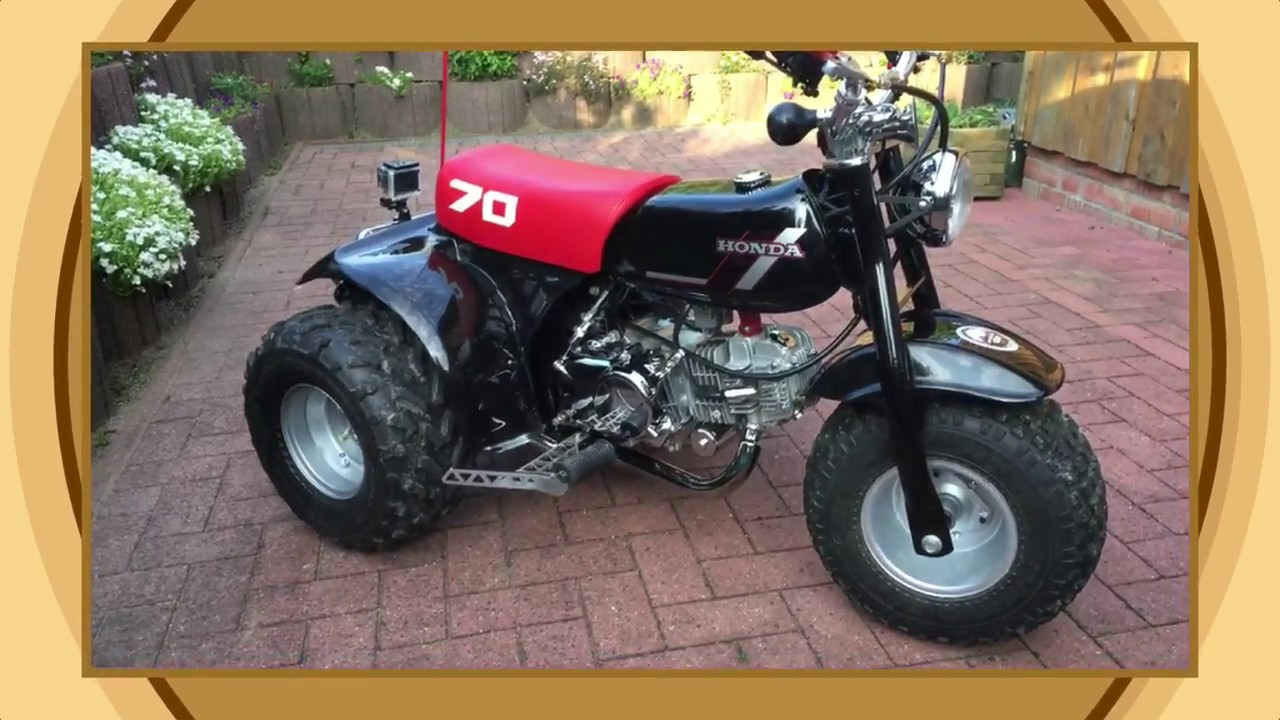 Honda atc 70 black