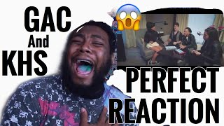 Perfect - One Direction (GAC & KHS Cover) | REACTION