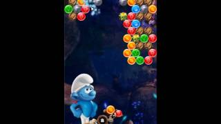 Smurfs Bubble Story Level 96 - NO BOOSTERS