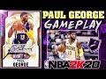 WE GOT GALAXY OPAL PAUL GEORGE! Making HIS DEBUT in NBA 2K20 MYTEAM LIVE