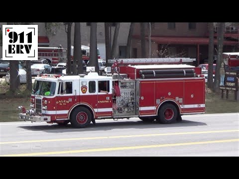 Derry, NH Medic 1 and Salem, NH Engine 4 Responding