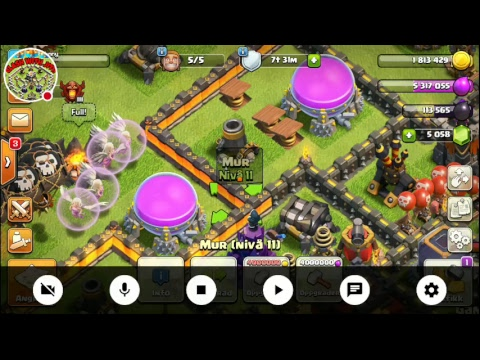 Clash of clan Time 500 Worth of Gems Giveaway