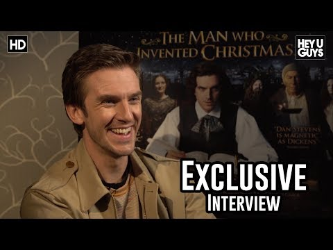 Dan Stevens - The Man Who Invented Christmas Exclusive Interview