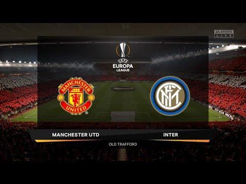 FIFA 20 Career Season 1 UEFA Europa League Semi-finals Manchester United vs. Inter Milan 1st Leg