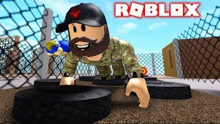I SPENT ONE DAY IN THE ARMY | ROBLOX #admiros