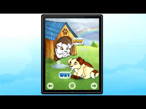 "Educational iPad App for kids ""Antonym Pictures"""