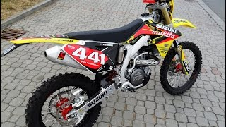 SUZUKI RMX 450 Z m.2011 First start