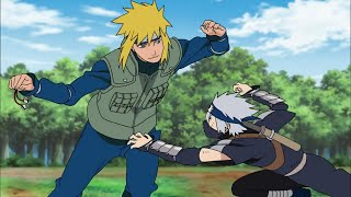 Kakashi Visits Naruto's House, Kakashi Takes The Bell From Minato, Naruto Shippuden English Dub