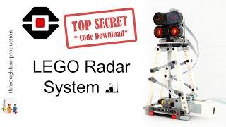 LEGO Mindstorms EV3 Radar System