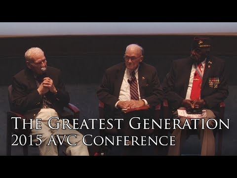 The Greatest Generation: Americans in World War II (2015 AVC Conference)