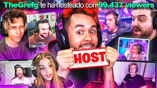 HOSTEANDO STREAMERS FAMOSOS - TheGrefg