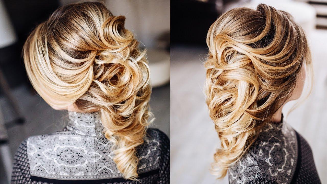 Греческая коса прически фото