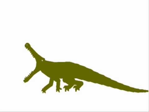 PDFC - Nanotyrannus vs Sarcosuchus