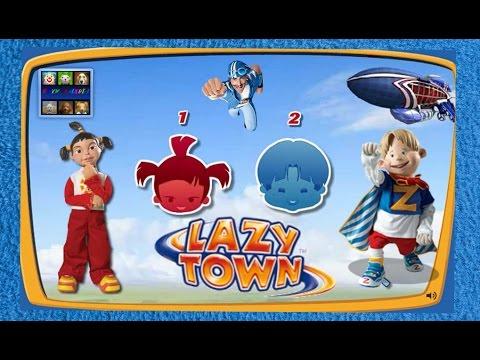 ZIGGY LAZY TOWN CHALLENGE - (Ziggy -Trixie)
