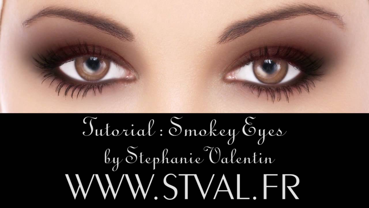 tutorial : smokey eyes - make-up