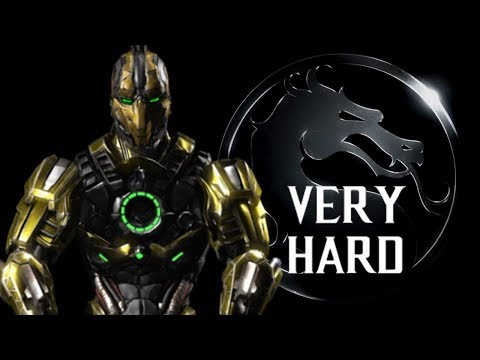Mortal Kombat X - Triborg (Cyrax (LK-4D4)) Klassic Tower (VERY HARD) NO MATCHES LOST
