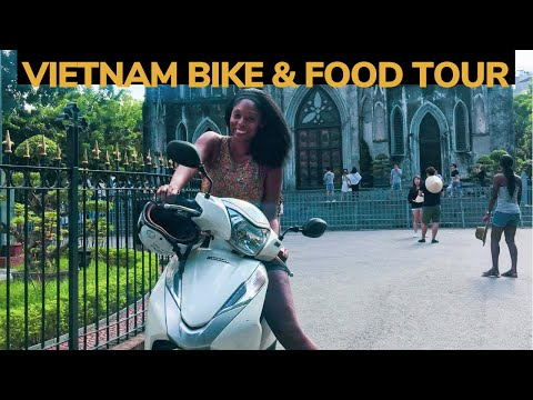 Epic Bike & Food Tour Around Hanoi | Vietnam Travel Part 1