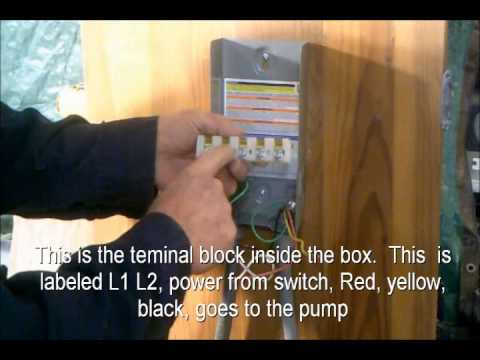 hqdefault how to wire a pump controller youtube well pump control box wiring diagram at gsmx.co