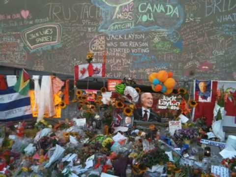 Jack Layton tribute video set to Steven Page singing Hallelujah