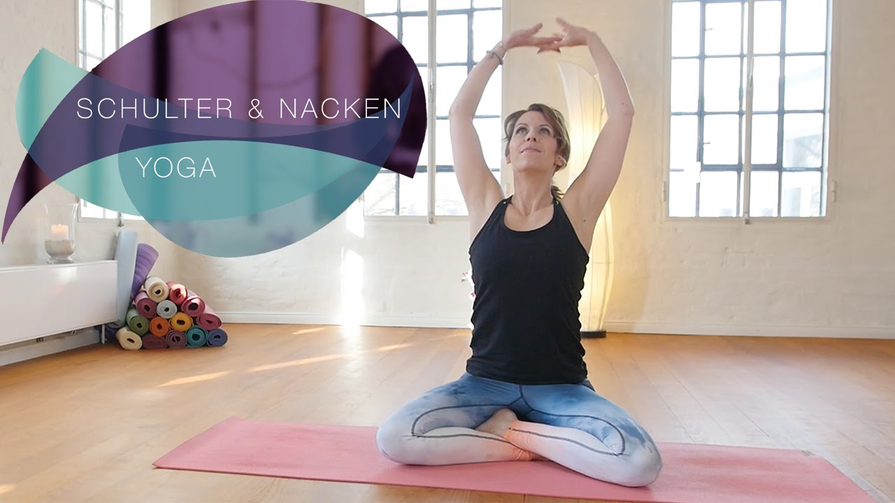 Yoga für Schulter und Nacken - Verspannungen schnell lösen // FlexibleFit Yoga