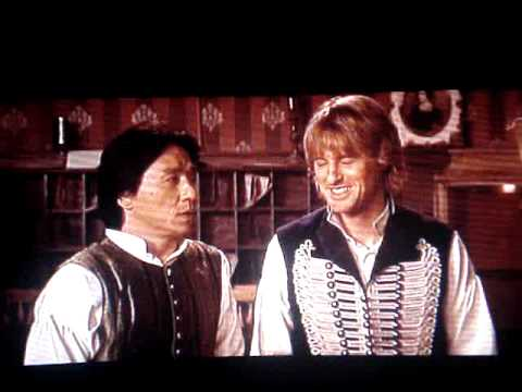Shanghai Knights Owen Wilson And Jackie Chan Bloopers Youtube