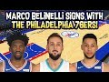 MARCO BELINELLI SIGNS WITH THE PHILADELPHIA 76ERS! BIG TIME SCORER! NBA SIMULATION