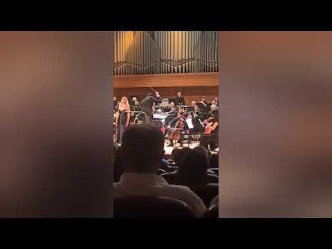 Оперный театр Еревана. Концерт посвященный Арно Бабаджаняну. Танцевальный ансамбль Армении