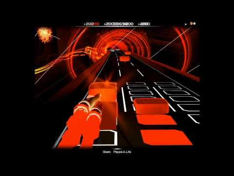 Audiosurf: skam - played a life