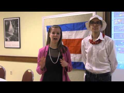 Students Learn Costa Rican Culture