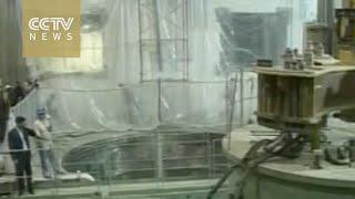 Iran removes Arak nuclear reactor core