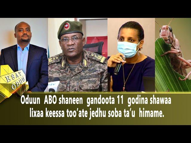 Ethiopia - ESAT Oduu Afaan Oromoo Roobii 24 Feb 2021