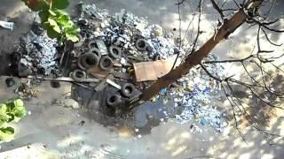 Lixo em Triagem, Rio de Janeiro. Data: 22/04/10.