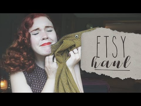 Autumn is COMINGGG || Etsy Vintage Haul
