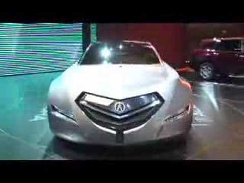 Acura Advanced Sedan Honda Remix And Step Bus Concepts And Youtube