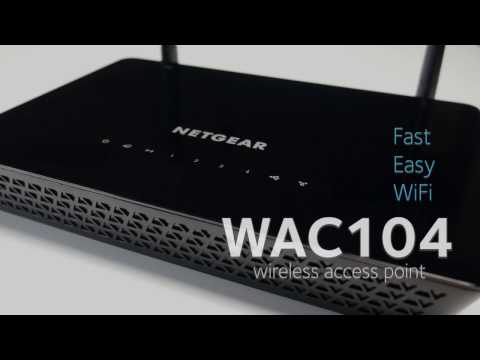 WAC104 Wireless Access Point Highlights