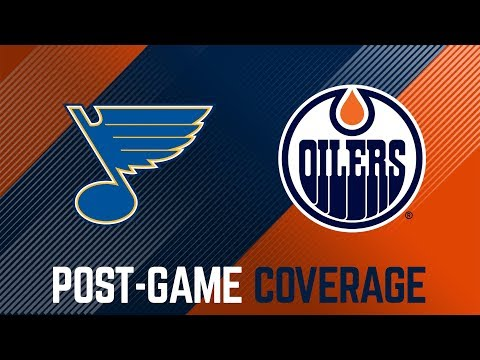 ARCHIVE | Oilers Post-Game Interviews at St. Louis