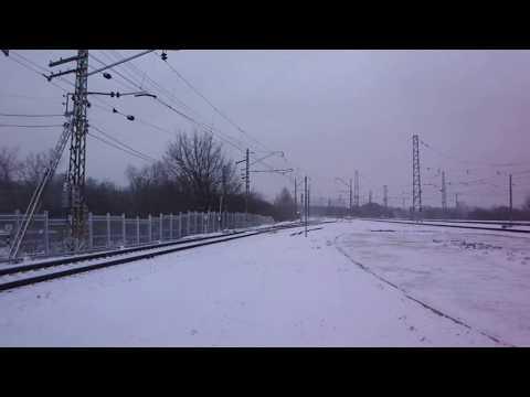 Льговский поезд и электричка МЦД-2 в Царицыно