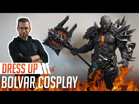 Bolvar Cosplay Transformation - World Of Warcraft