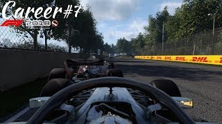 HAMILTON AND VERSTAPPEN GOT DISQUALIFIED! | F1 2018 Career Mode Part 7