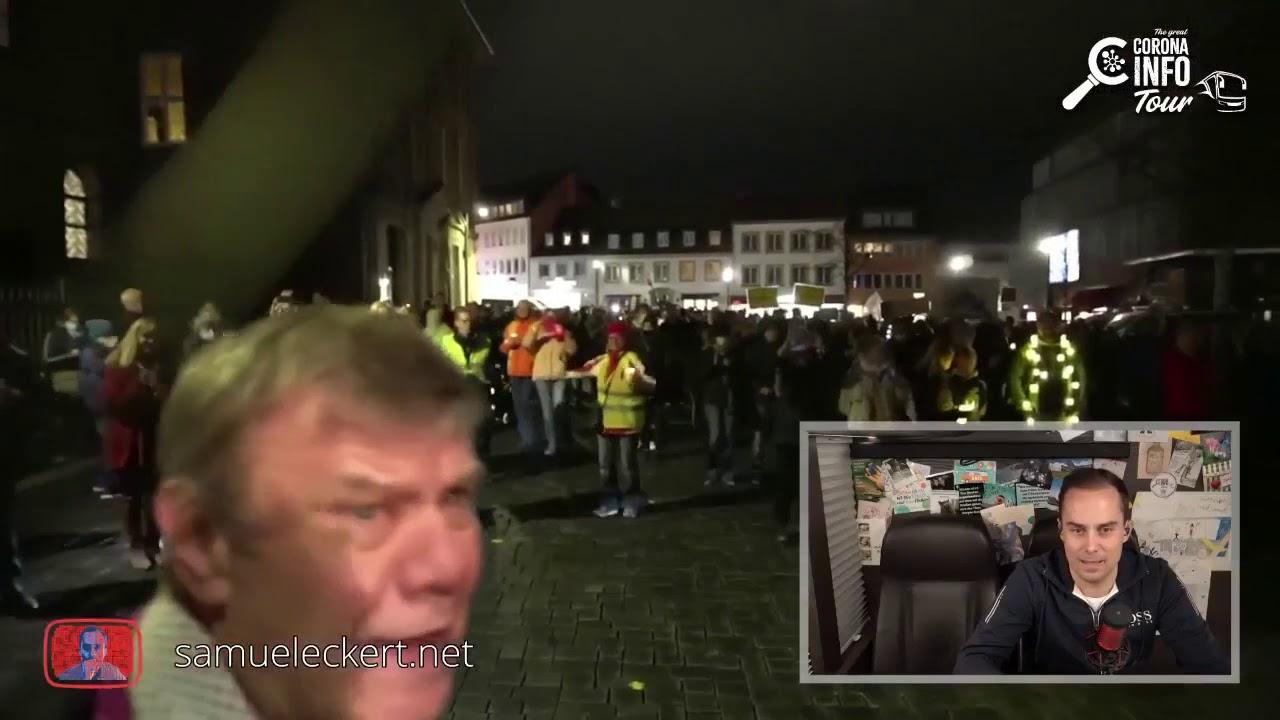 Corona Info Tour 13.11.20 Paderborn - Abendveranstaltung