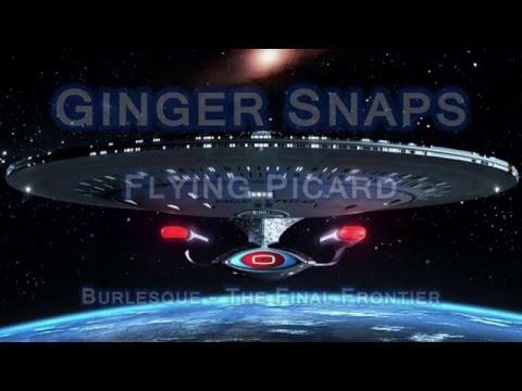 "Ginger Snaps Performing ""Flying Picard"" at Star Trek Burlesque!"